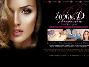 Sophie D - Maquillage permanent  - Bourges